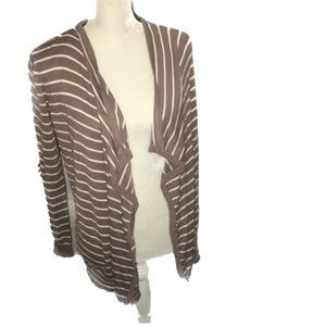 🙈4 for $40💥💥Love Culture Striped Open Cardigan